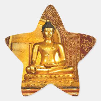Adesivo Estrela Tailândia buddha