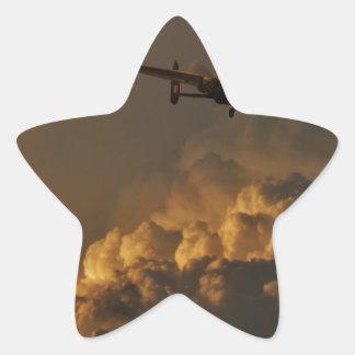 Adesivo Estrela TEMPESTADE do bombardeiro de Lancaster