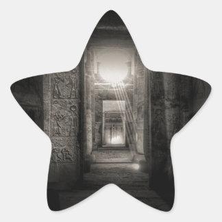 Adesivo Estrela Templo Abydos de Seti I