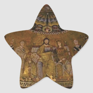 Adesivo Estrela Templo do arco da abóbada da igreja