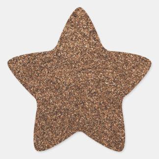Adesivo Estrela textura da pimenta preta