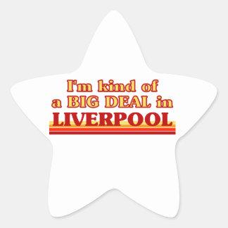 Adesivo Estrela Tipo de I´m de uma grande coisa em Liverpool
