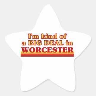 Adesivo Estrela Tipo de I´m de uma grande coisa em Worcester