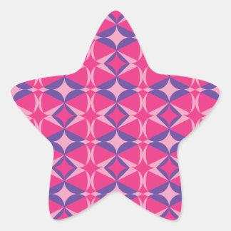 Adesivo Estrela toalha fluorescente da mesa
