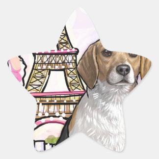 Adesivo Estrela torre Eiffel Paris do lebreiro