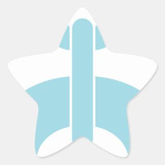 Adesivo Estrela Trave a corrente de N