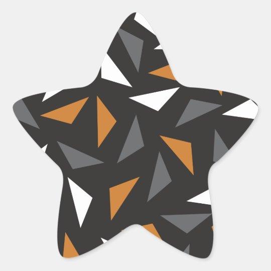 Adesivo Estrela Triângulos animados