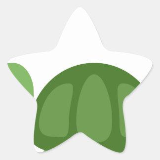 Adesivo Estrela Turtle Emoji