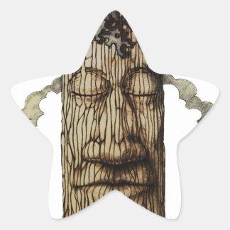 Adesivo Estrela Uma capa poderosa da árvore