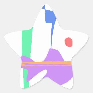 Adesivo Estrela Uma cegonha - você não está sozinho