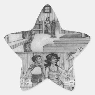 Adesivo Estrela Uma página PODEROSA 24 da ÁRVORE
