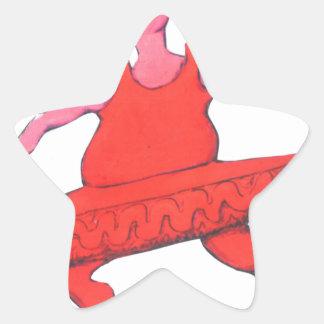 Adesivo Estrela Vaca da bailarina