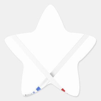 Adesivo Estrela Varas e disco de hóquei em gelo