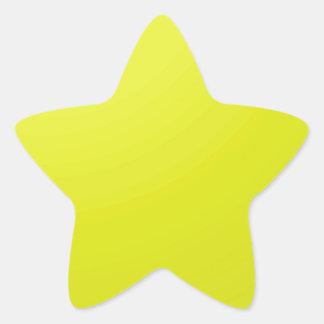 Adesivo Estrela Vazios dourados amarelos da máscara da cor: