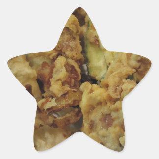Adesivo Estrela Vegetais crocantes panados e fritados com limão