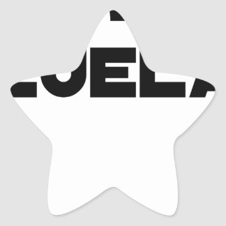 Adesivo Estrela VÉNER-ZUELA - Jogos de palavras - François Cidade