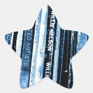 Adesivo Estrela Vida do vinil