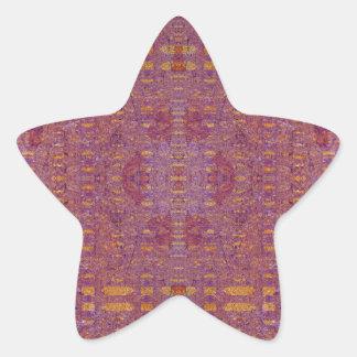 Adesivo Estrela violeta