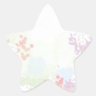 Adesivo Estrela Wildflowers
