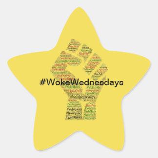 Adesivo Estrela #WokeWednesdays