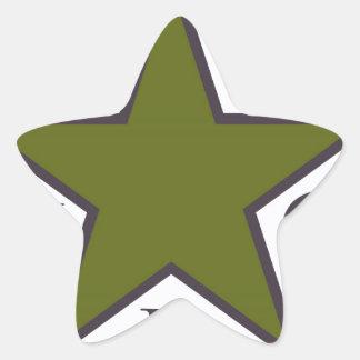 Adesivo Estrela ypg-ypj 3