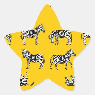 Adesivo Estrela Zebra selecção