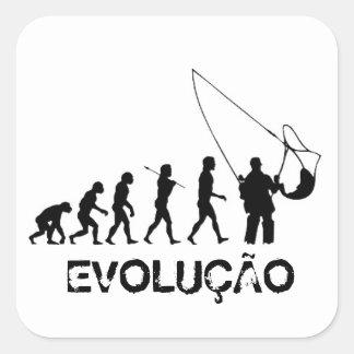 Adesivo Evolução Pescador