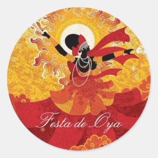 Adesivo Festa de Oya