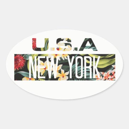 ADESIVO - FLORAL NEW YORK