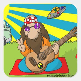 adesivo hippie