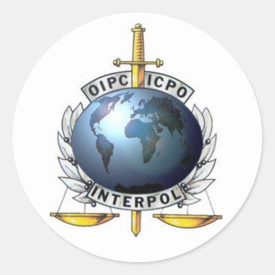 Adesivo Interpol