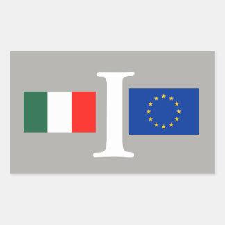 ADESIVO ITALIA UNIÃO EUROPEIA