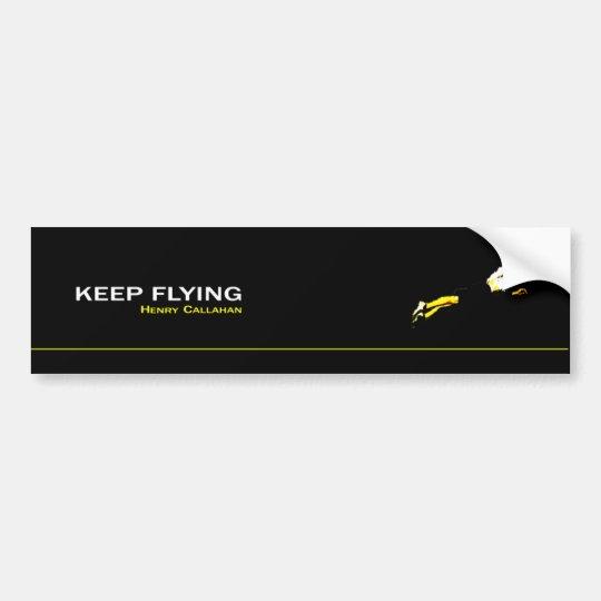 Adesivo Keep Flying
