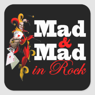 "Adesivo ""Mad & Mad in Rock"""