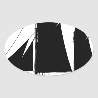 Adesivo Oval a navigação 1893 smack - fernandes tony