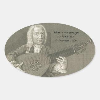 Adesivo Oval Adam Falckenhagen