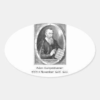 Adesivo Oval Adam Gumpelzhaimer