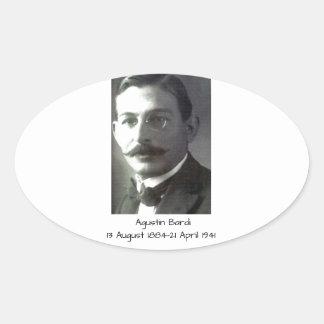 Adesivo Oval Agustin Bardi