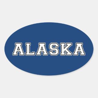 Adesivo Oval Alaska
