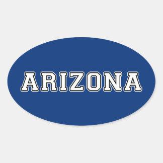 Adesivo Oval Arizona