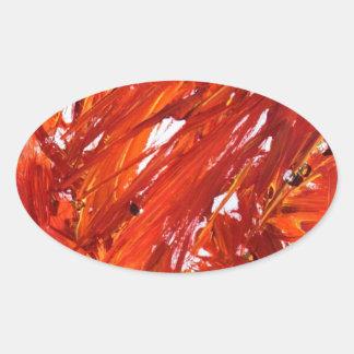 Adesivo Oval Ascensão de Phoenix