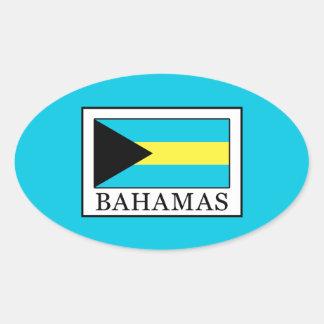Adesivo Oval Bahamas