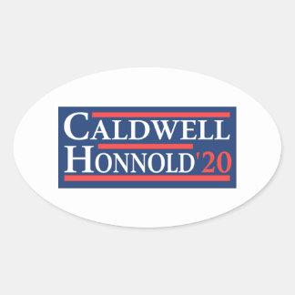Adesivo Oval Caldwell Honnold 2020