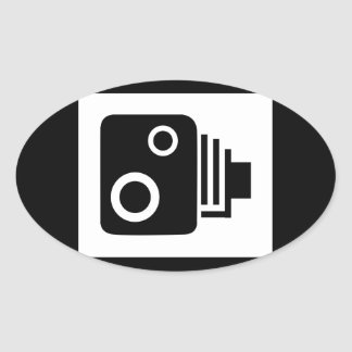 Adesivo Oval Câmera de Sopeed