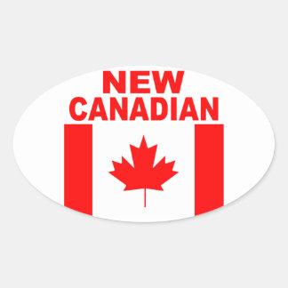 ADESIVO OVAL CANADENSE NOVO