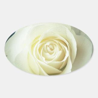 Adesivo Oval Caneca do rosa branco