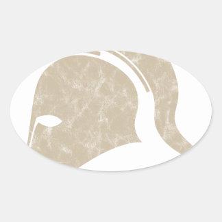 Adesivo Oval capacete