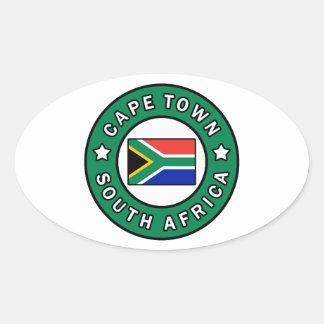 Adesivo Oval Cape Town África do Sul