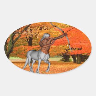 Adesivo Oval Centauro