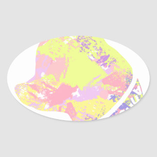 Adesivo Oval Chihuahua